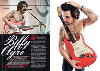 Total Guitar Smon Neil (Biffy Clyro) feature