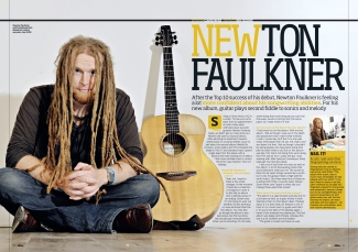 Total Guitar Newton Faulkner feature