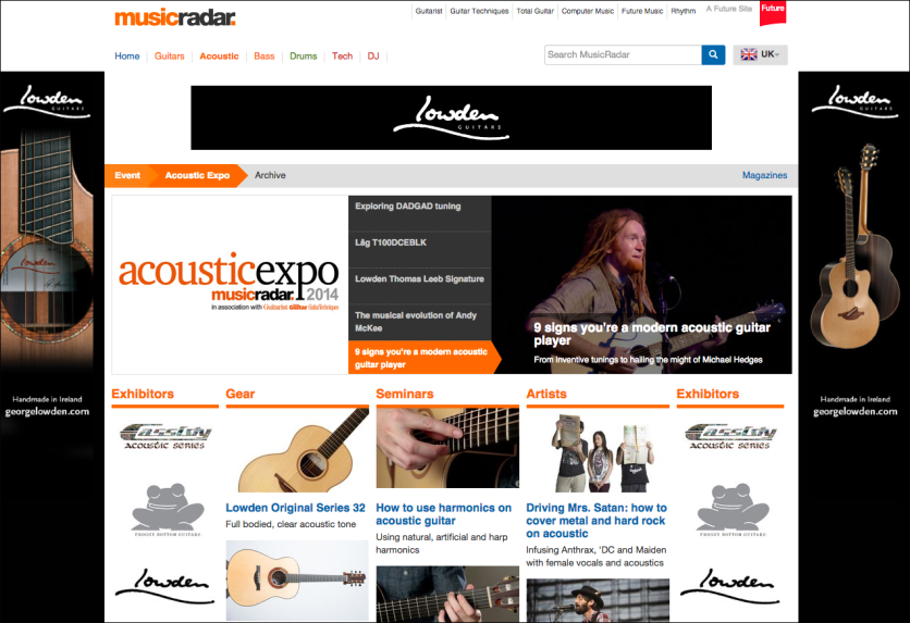 Acoustic Expo 2014 http://bit.ly/acousticexpo