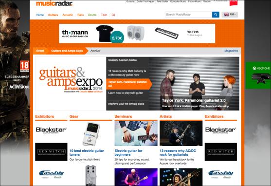 Guitars and Amps Expo 2014 http://bit.ly/guitarsandampsexpo