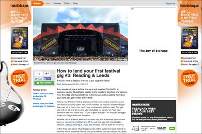 How to land your first festival gig #3: Reading & Leeds http://bit.ly/landafestivalgig