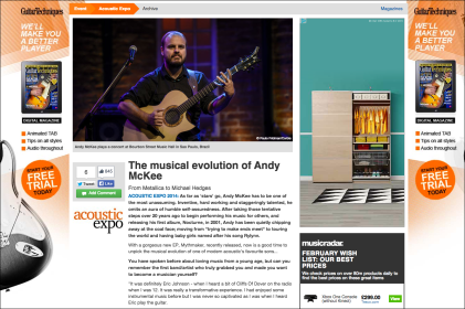 The musical evolution of Andy McKee http://bit.ly/andymckeeevolution