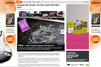 Access All Areas: On the road with Bon Jovi. http://bit.ly/bonjoviAAA
