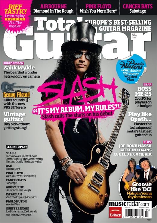 Total Guitar Slash cover