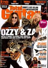 Total Guitar Ozzy Osbourne and Zakk Wylde cover
