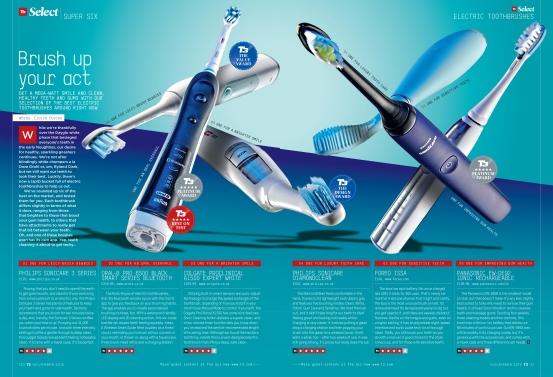 Toothbrush Select Six